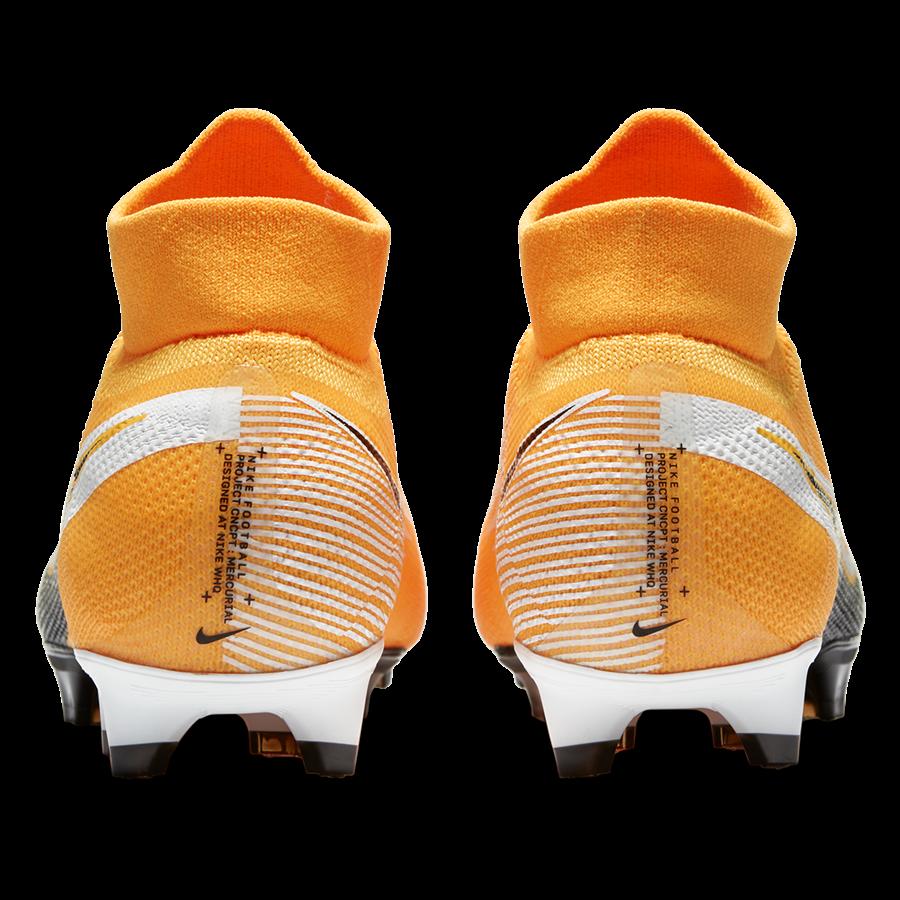 Nike Fußballschuh Mercurial Superfly VII Pro FG orange/schwarz Bild 9