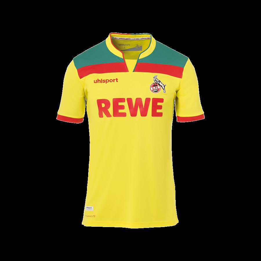 Uhlsport 1. FC Köln Kinder 3rd Trikot 2020/21 gelb/rot Bild 2