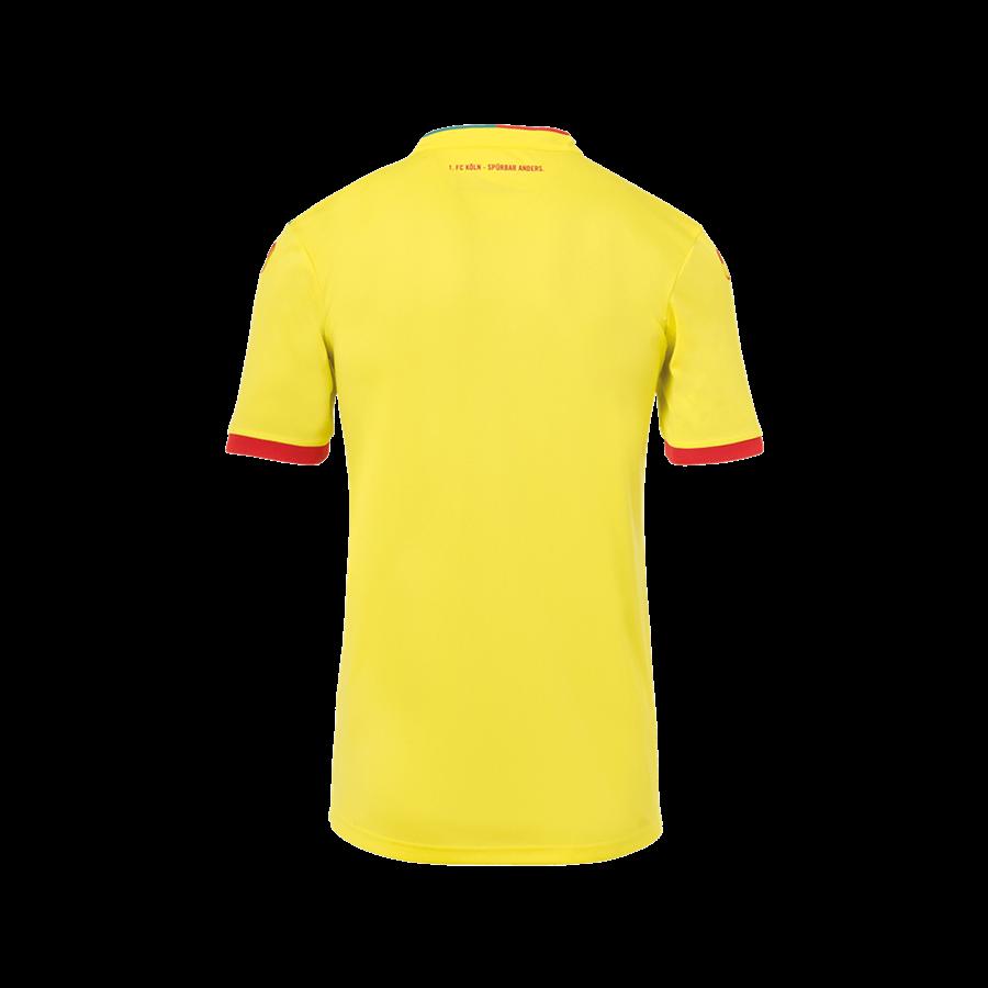 Uhlsport 1. FC Köln Kinder 3rd Trikot 2020/21 gelb/rot Bild 3