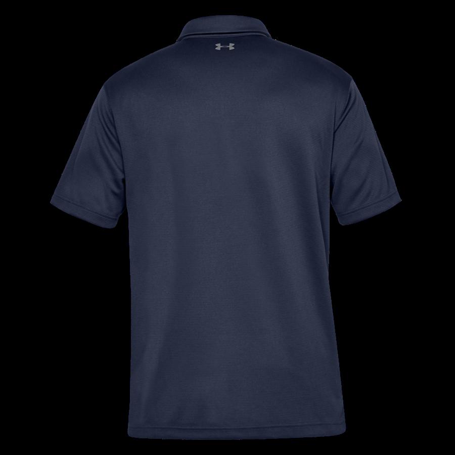 Under Armour Poloshirt Tech dunkelblau/grau Bild 3