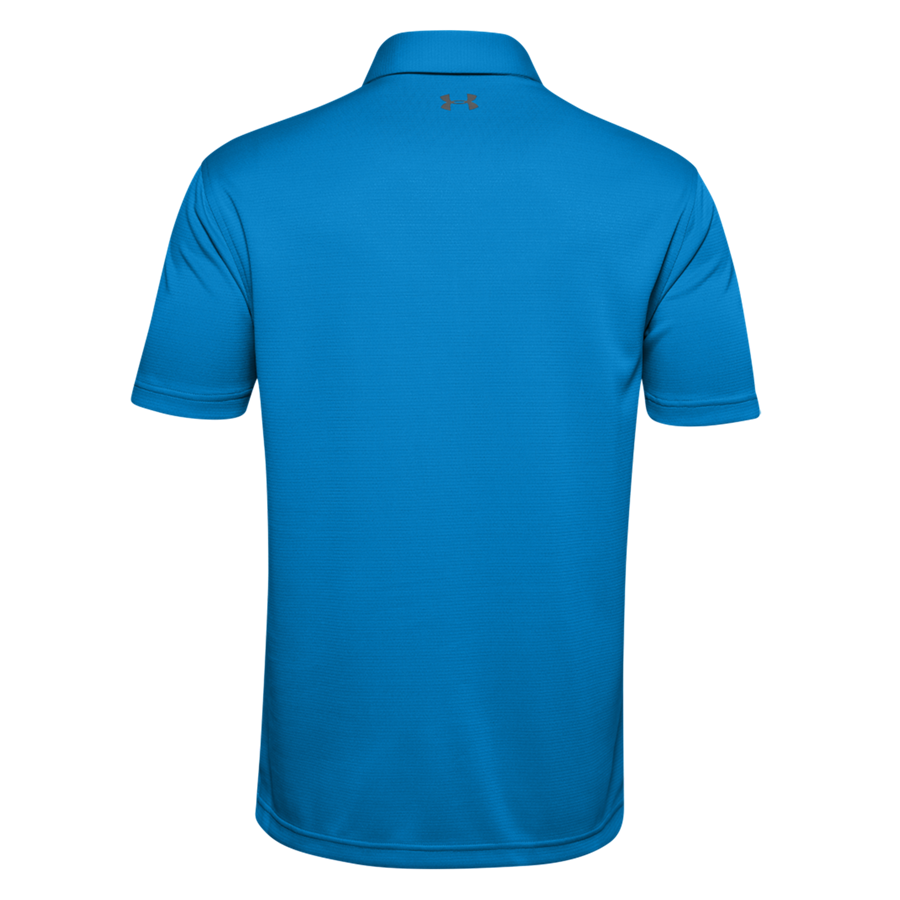Under Armour Poloshirt Tech blau/schwarz Bild 3