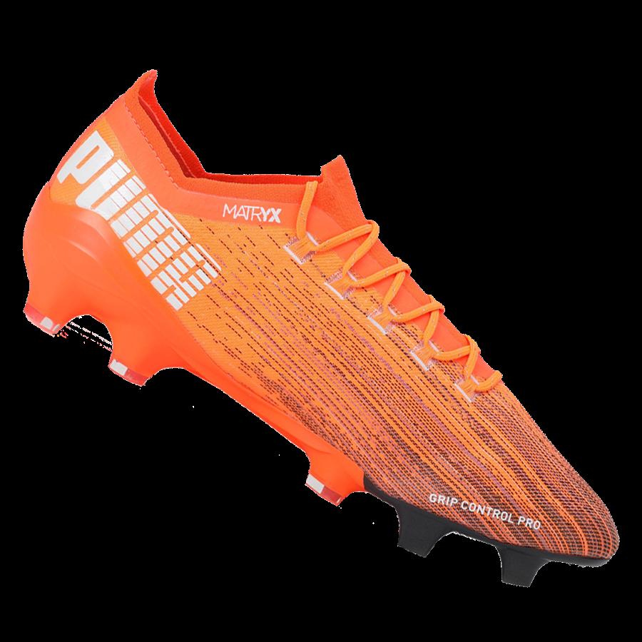 Puma Fußballschuh Ultra 1.1 FG/AG orange/schwarz Bild 2