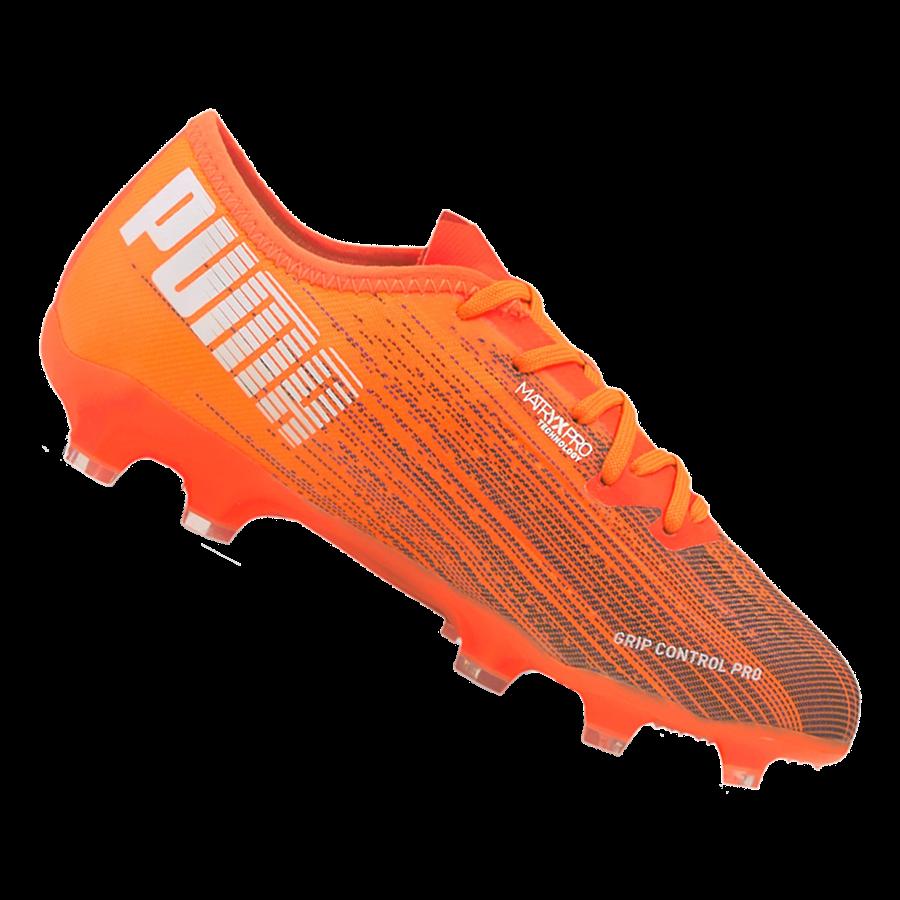 Puma Kinder Fußballschuh Ultra 2.1 FG/AG Jr orange/schwarz Bild 2