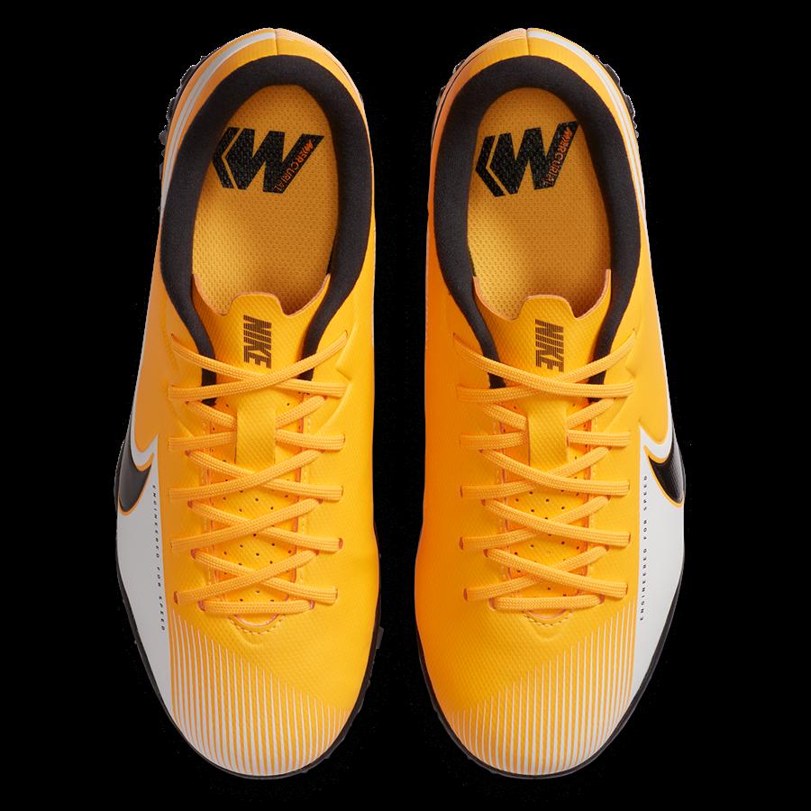 Nike Kinder Fußballschuh Mercurial Vapor XIII Academy Jr TF Kunstrasen orange/schwarz Bild 4