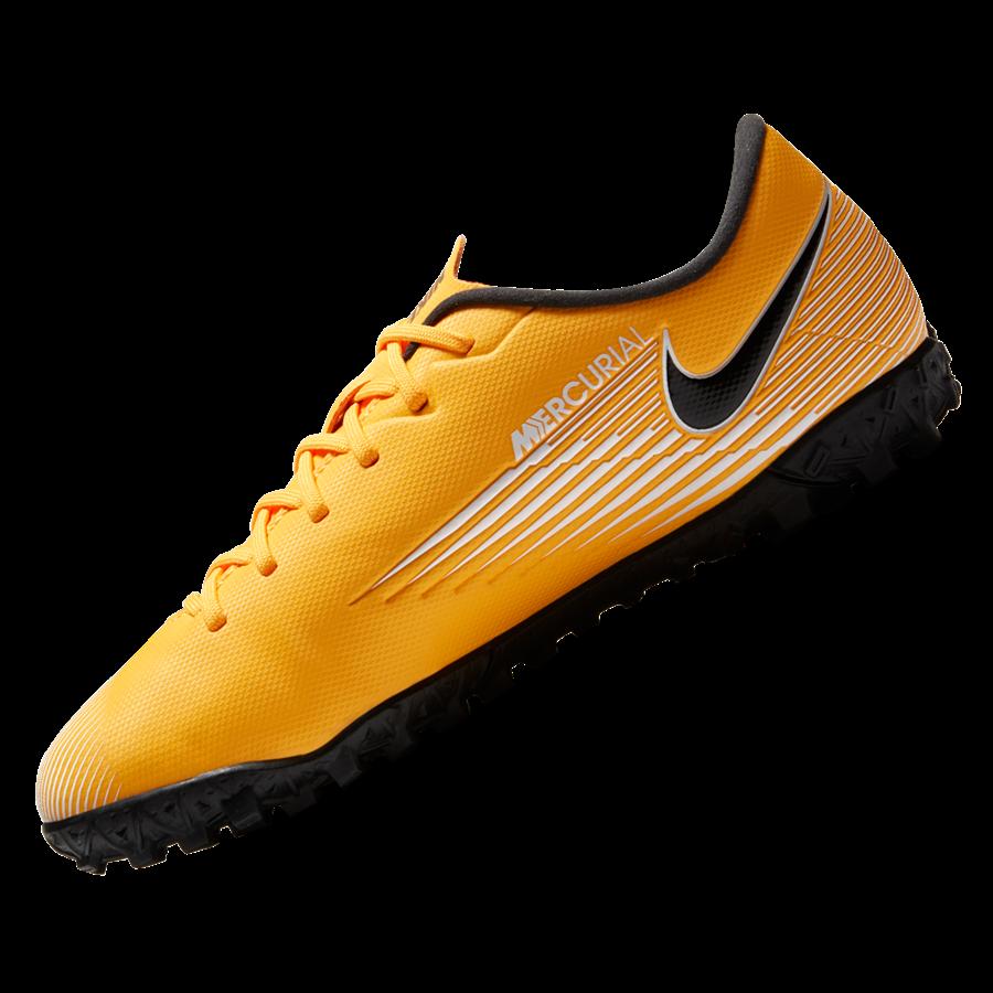 Nike Kinder Fußballschuh Mercurial Vapor XIII Academy Jr TF Kunstrasen orange/schwarz Bild 3