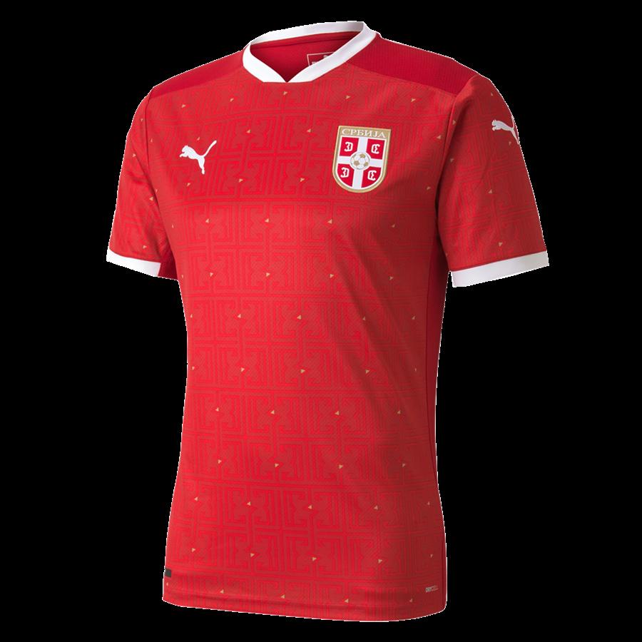Puma Serbien Herren Heim Trikot EM 2020 rot Bild 2