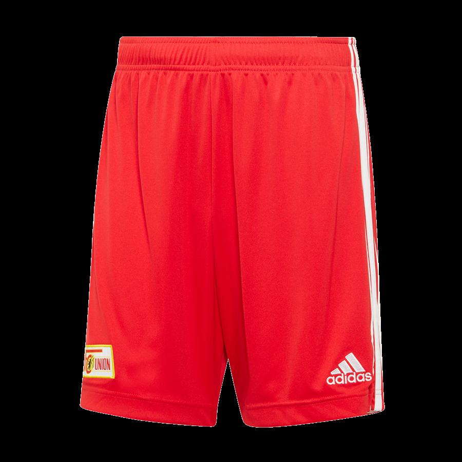 adidas Union Berlin Herren Heim Short 2020/21 rot/weiß Bild 2