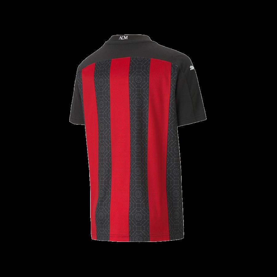Puma AC Mailand Kinder Heim Trikot 2020/21 rot/schwarz Bild 3