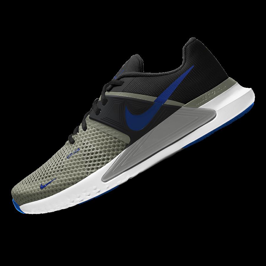 Nike Trainingsschuh Renew Fusion olivegrün/blau Bild 3