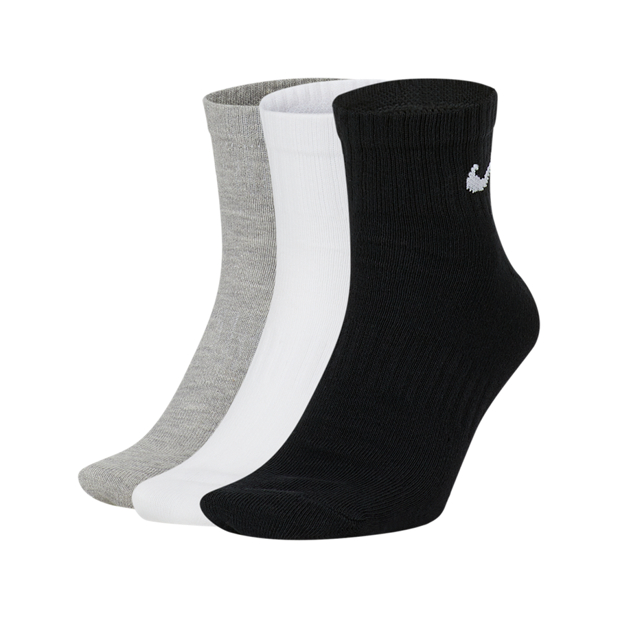Nike Socken Everyday Lightweight Ankle 3er Pack schwarz/weiß