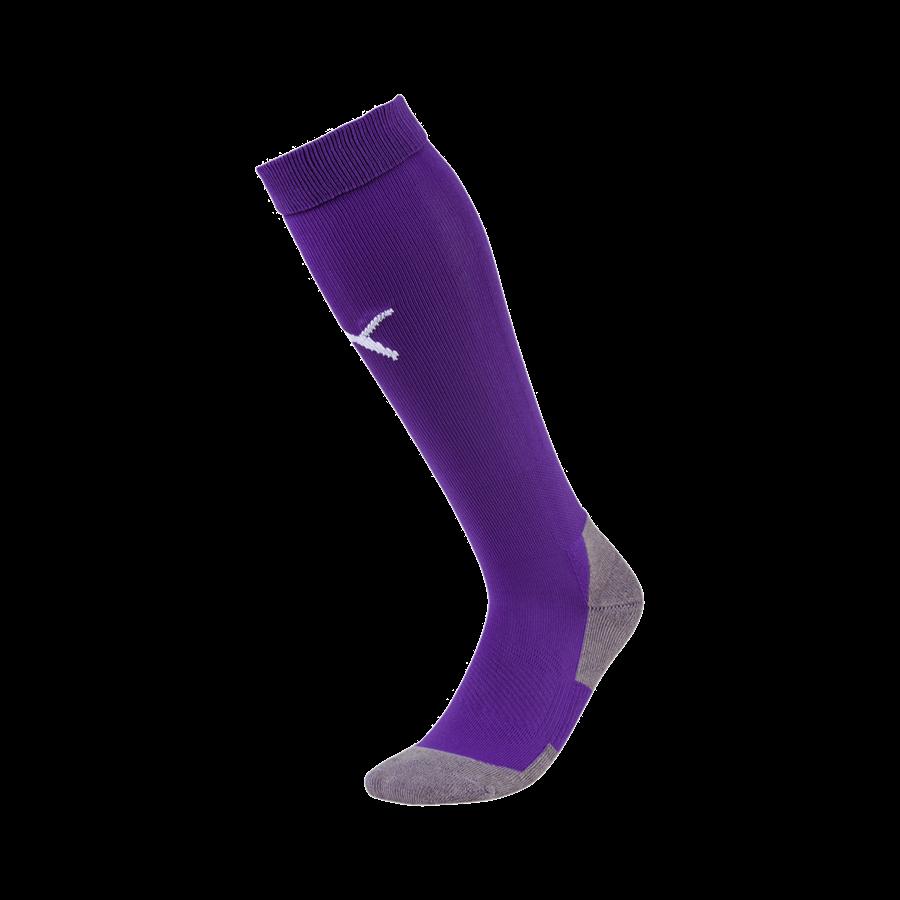 Puma Stutzen Liga Core Socks violett/weiß Bild 2