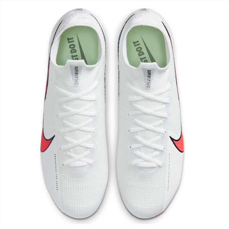Nike Fußballschuh Mercurial Superfly VII Elite weiß/orange Bild 4