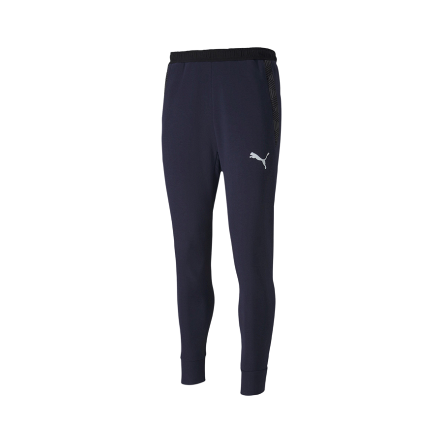 Puma Trainingshose teamFINAL 21 Casuals Sweat Pants dunkelblau/weiß Bild 2