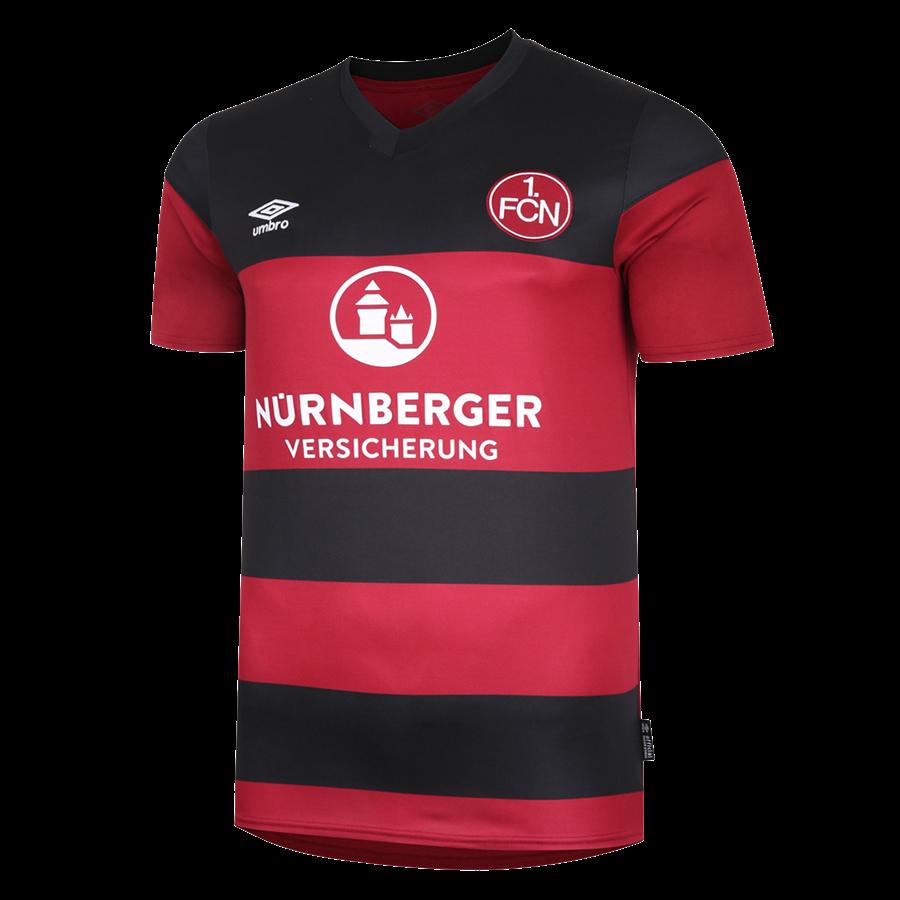 Umbro 1. FC Nürnberg Herren Heim Trikot 2020/21 rot/schwarz Bild 2