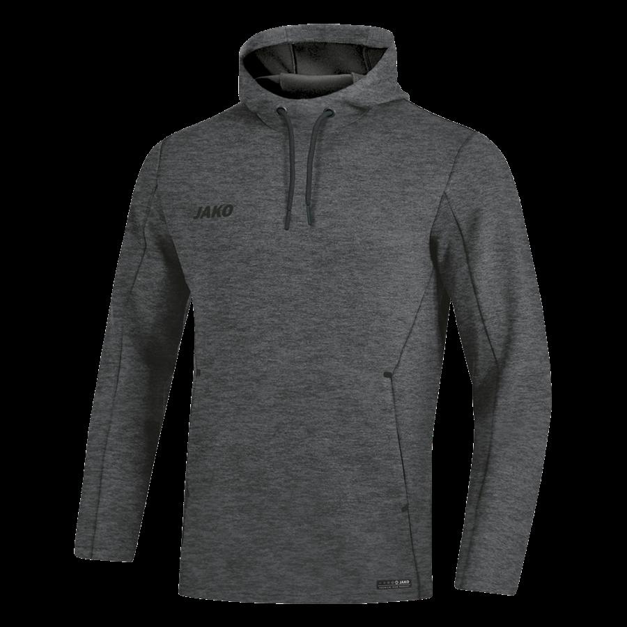 Jako Kapuzenpullover Premium Basics Sweat anthrazit/schwarz Bild 2