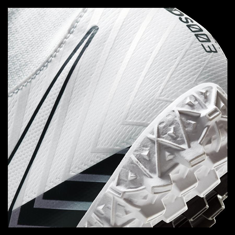 Nike Fußballschuh Mercurial Superfly VII Academy MDS TF Kunstrasen weiß/schwarz Bild 8