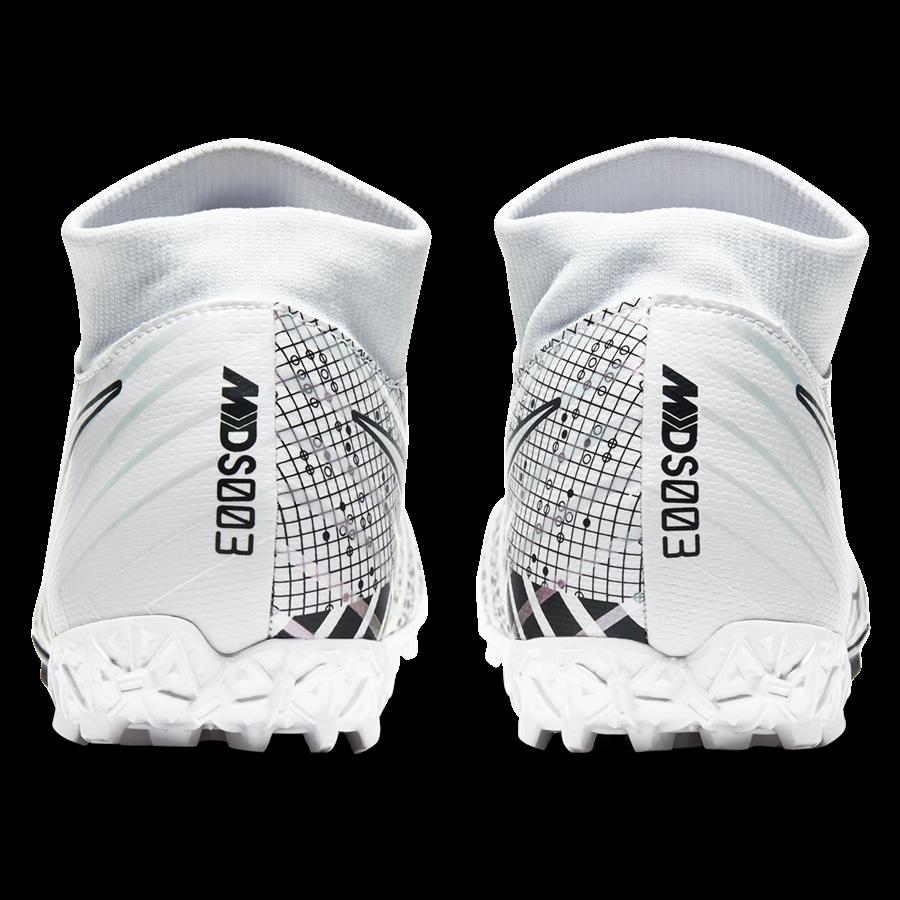 Nike Fußballschuh Mercurial Superfly VII Academy MDS TF Kunstrasen weiß/schwarz Bild 9