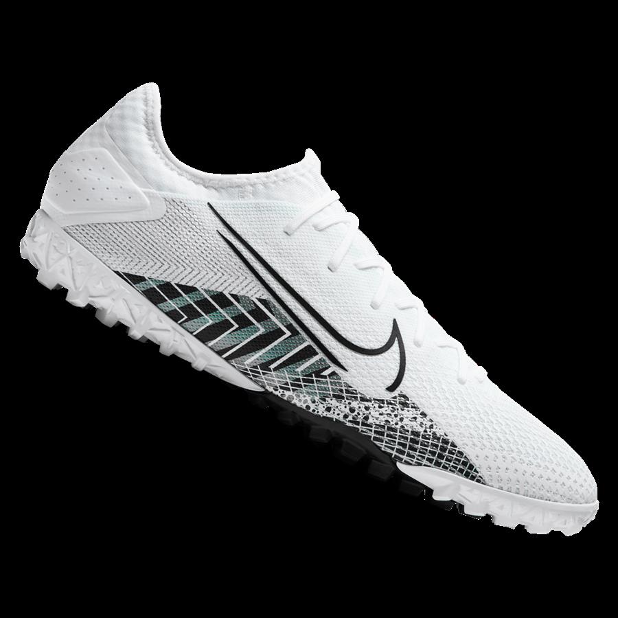 Nike Fußballschuh Mercurial Vapor XIII Pro MDS TF Kunstrasen weiß/schwarz Bild 2
