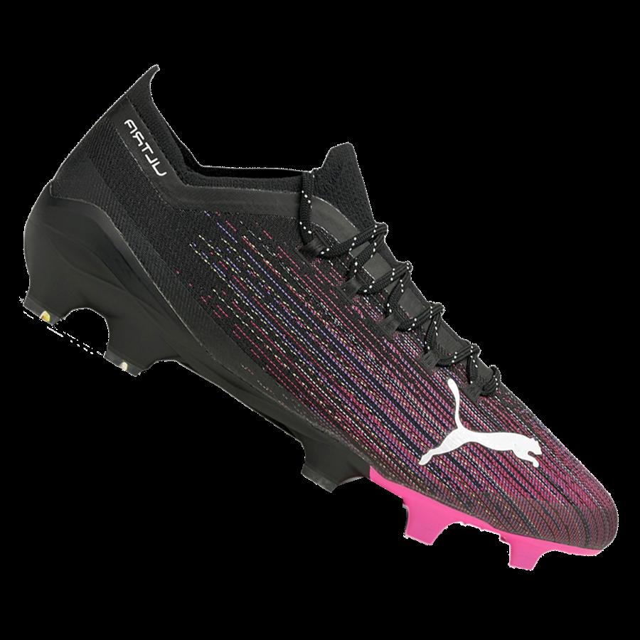 Puma Fußballschuh Ultra 1.1 FG/AG schwarz/pink Bild 2