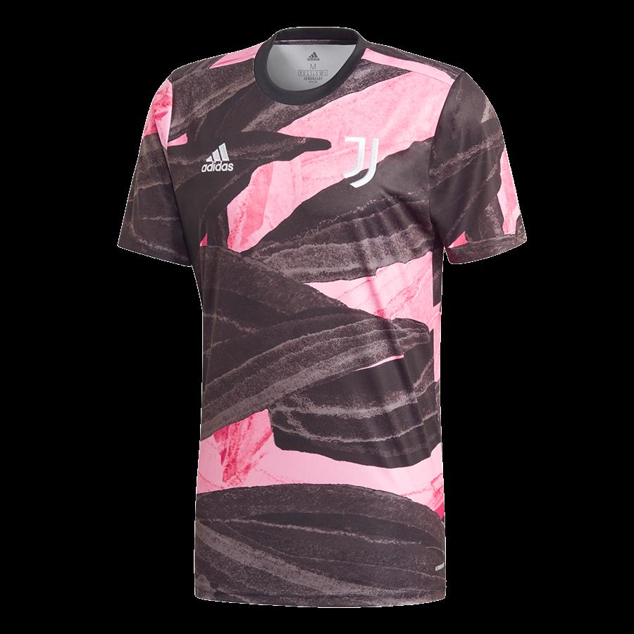adidas Juventus Turin Herren Aufwärmtrikot braun/weiß Bild 2