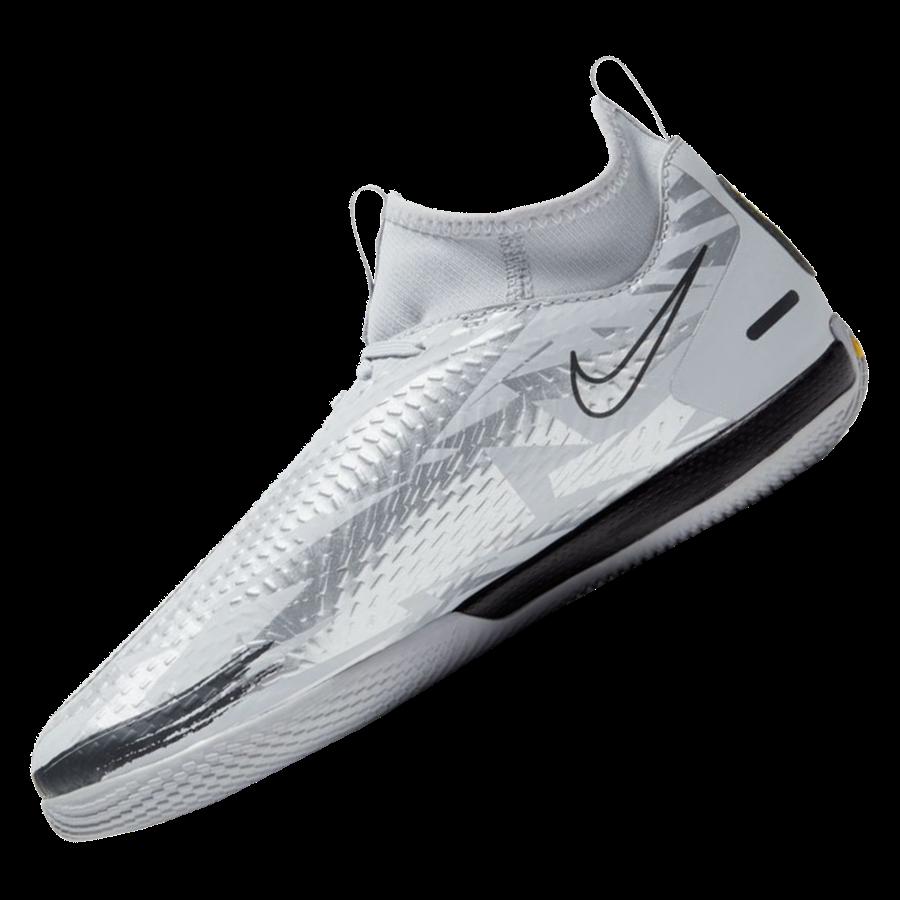 Nike Kinder Hallenschuh Phantom GT Academy Dynamic Fit SE IC silber/schwarz Bild 3