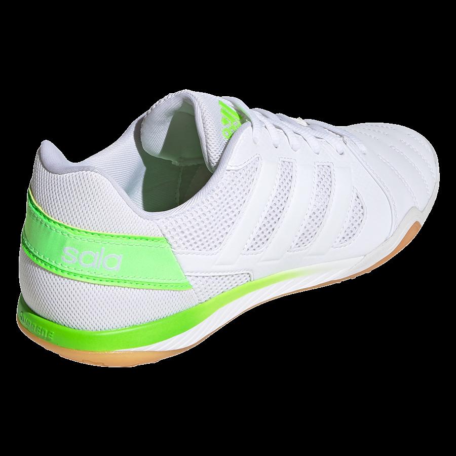 adidas Hallenschuh Top Sala weiß/grün fluo Bild 10