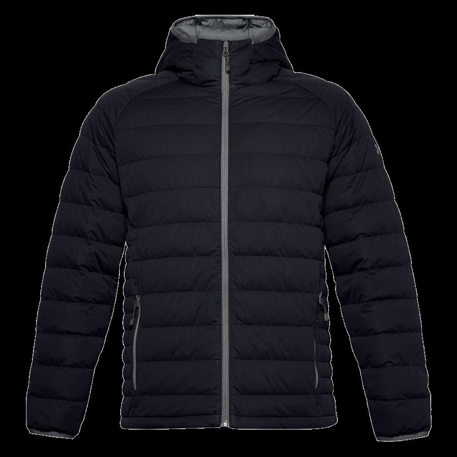 Under Armour donsjas Stretch Down Jacket zwart/grijs Afbeelding 2