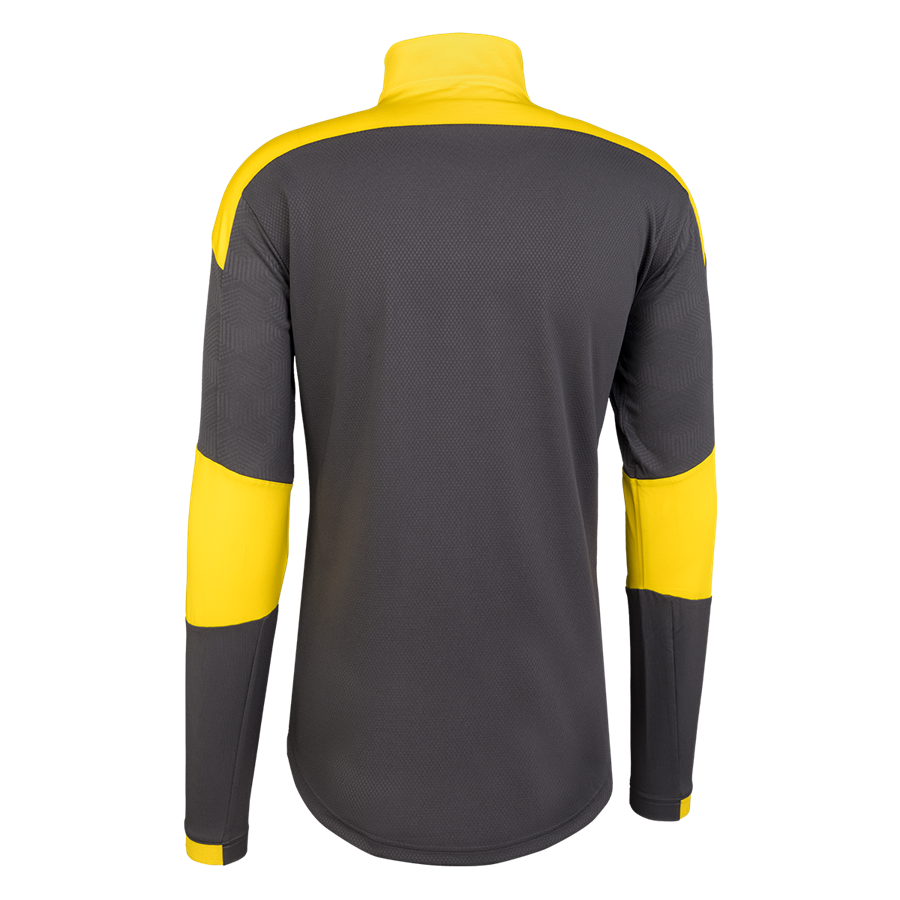 Puma BVB Trainingsoberteil 1/4 Zip Top dunkelgrau/gelb