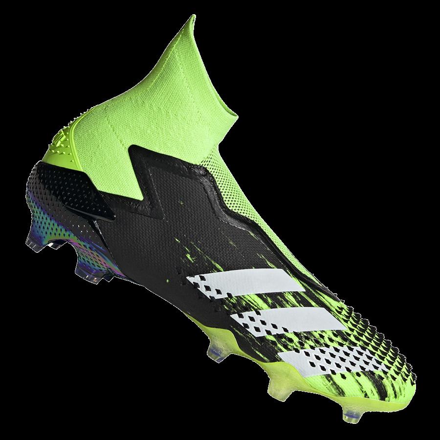 adidas Fußballschuh Predator Mutator 20+ FG grün fluo/weiß Bild 2