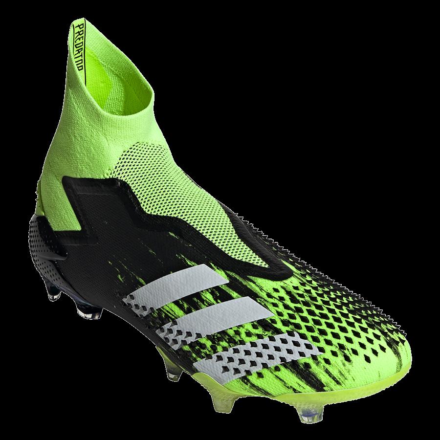 adidas Fußballschuh Predator Mutator 20+ FG grün fluo/weiß Bild 9