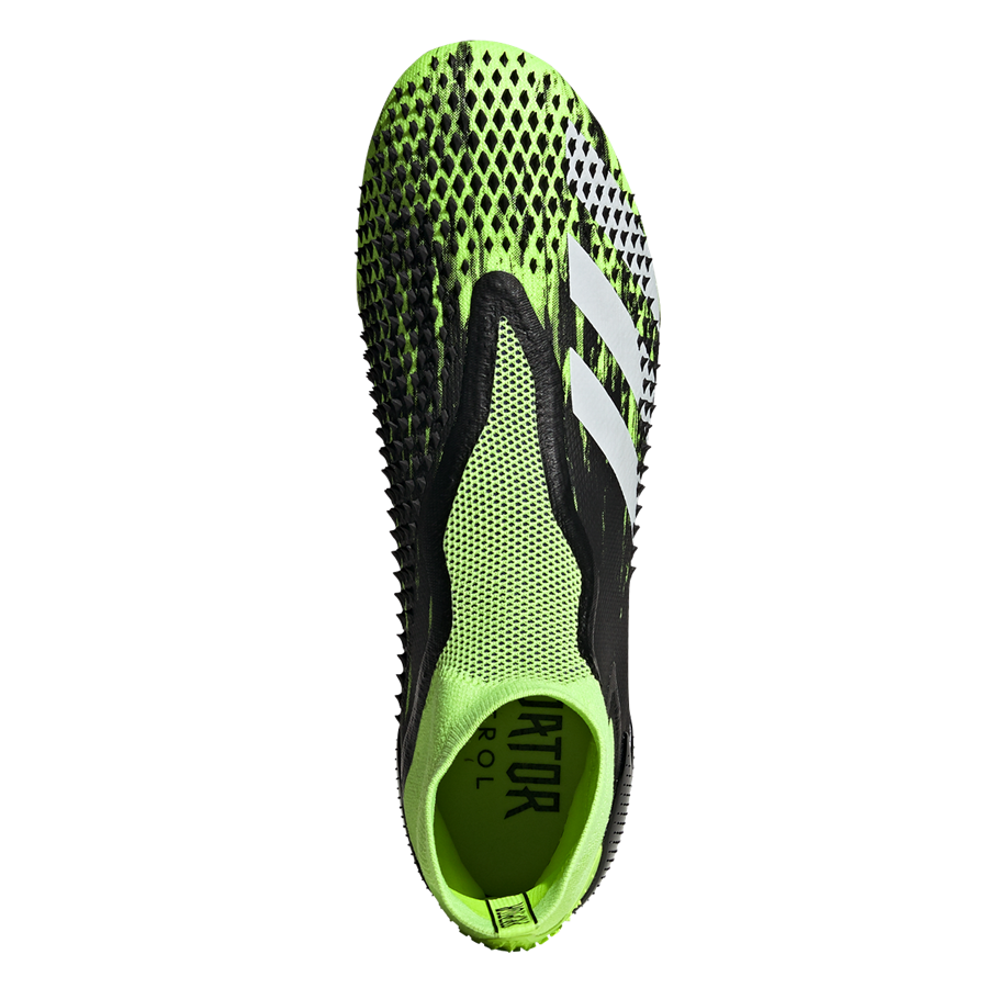 adidas Fußballschuh Predator Mutator 20+ FG grün fluo/weiß Bild 4