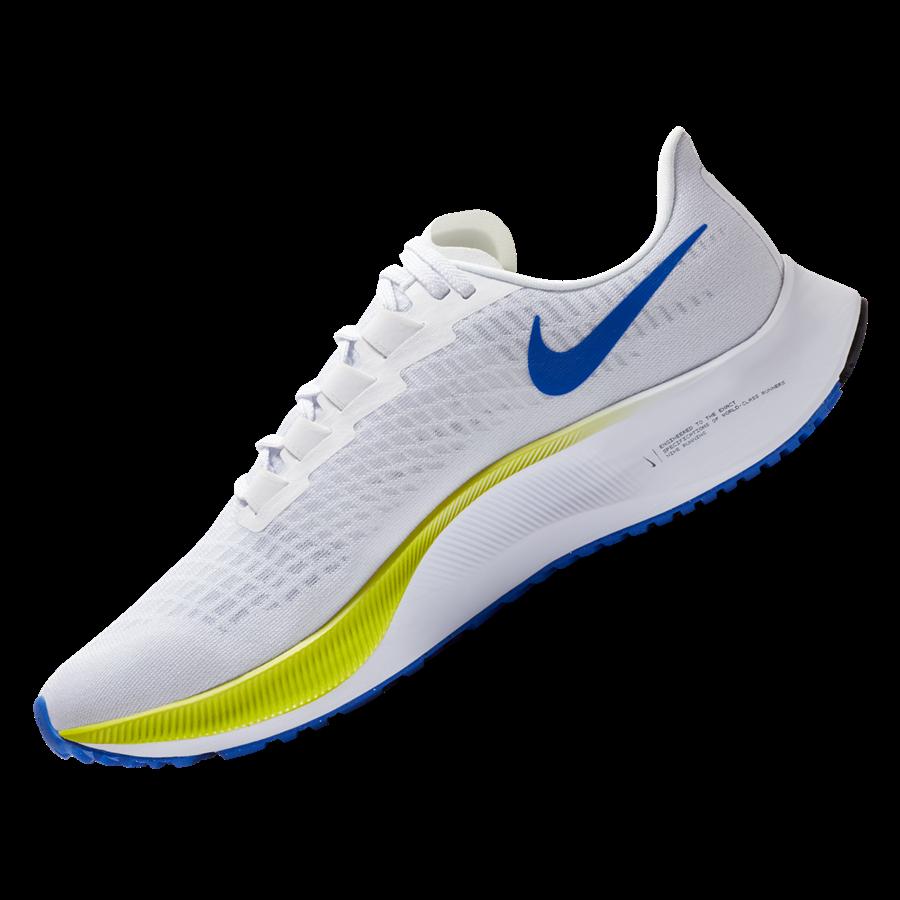 Nike Air Zoom Pegasus 37 futócipő fehér/kék Kép 3