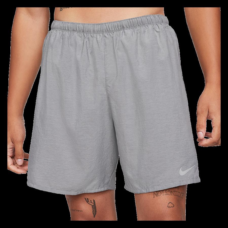 Nike Laufshort Challenger 7'' Brief-Lined hellgrau/silber Bild 2