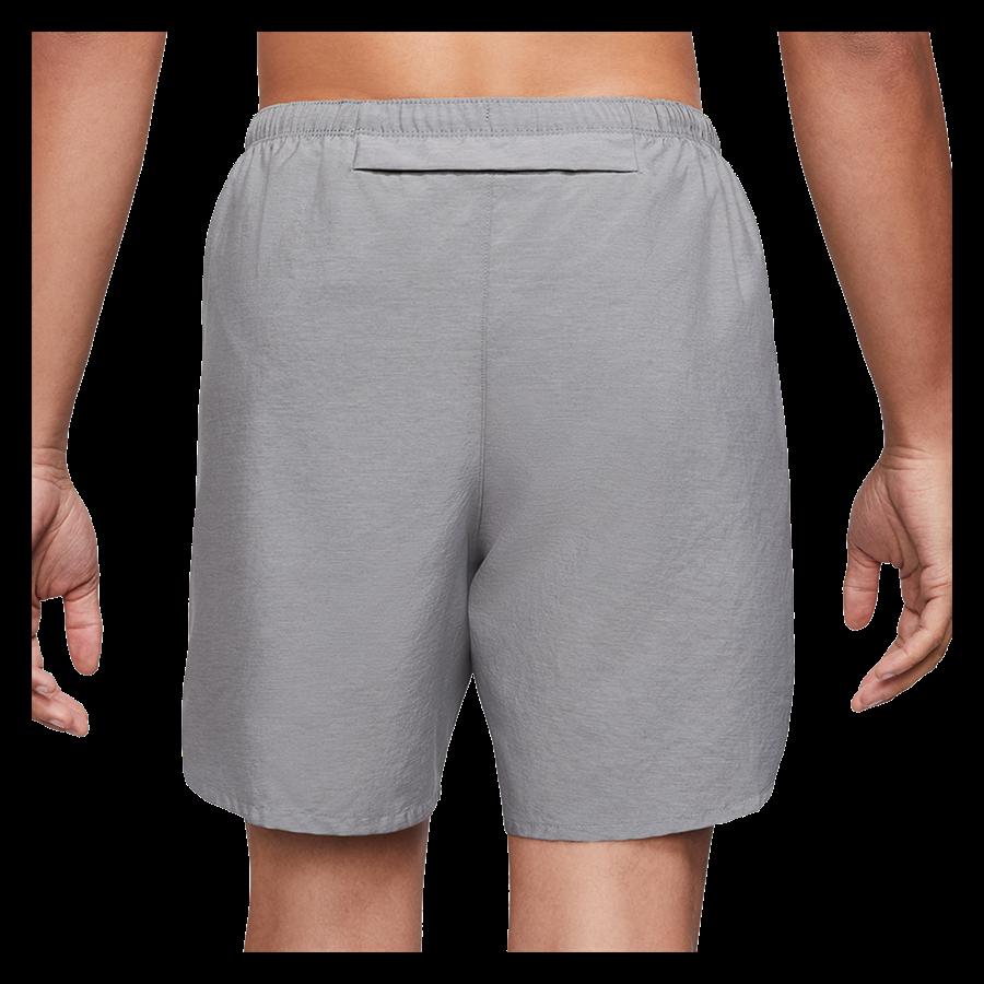 Nike Laufshort Challenger 7'' Brief-Lined hellgrau/silber Bild 3