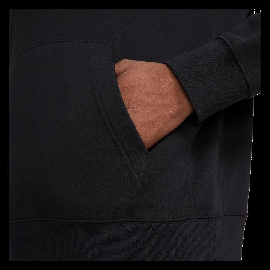 Nike Trainingsanzug Sportswear Fleece schwarz/weiß Bild 6