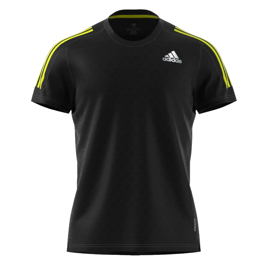 "adidas Laufshirt ""Own The Run"" Response Aeroready schwarz Bild 2"