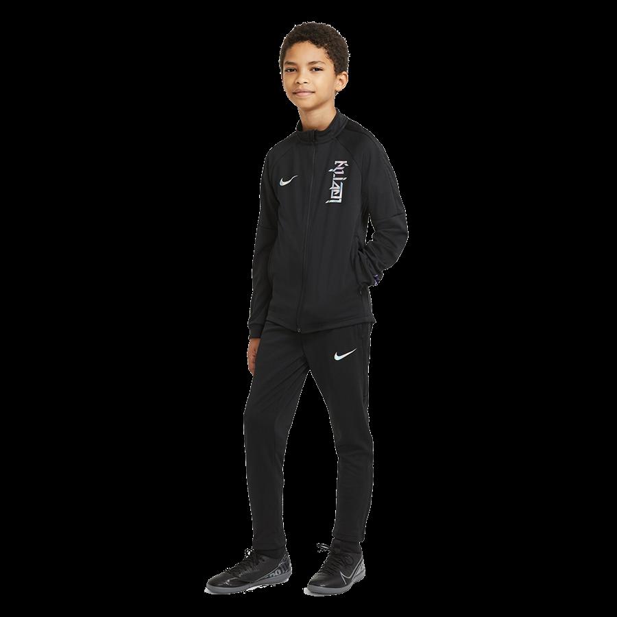 Nike Kinder Trainingsanzug Kylian Mbappé schwarz Bild 2