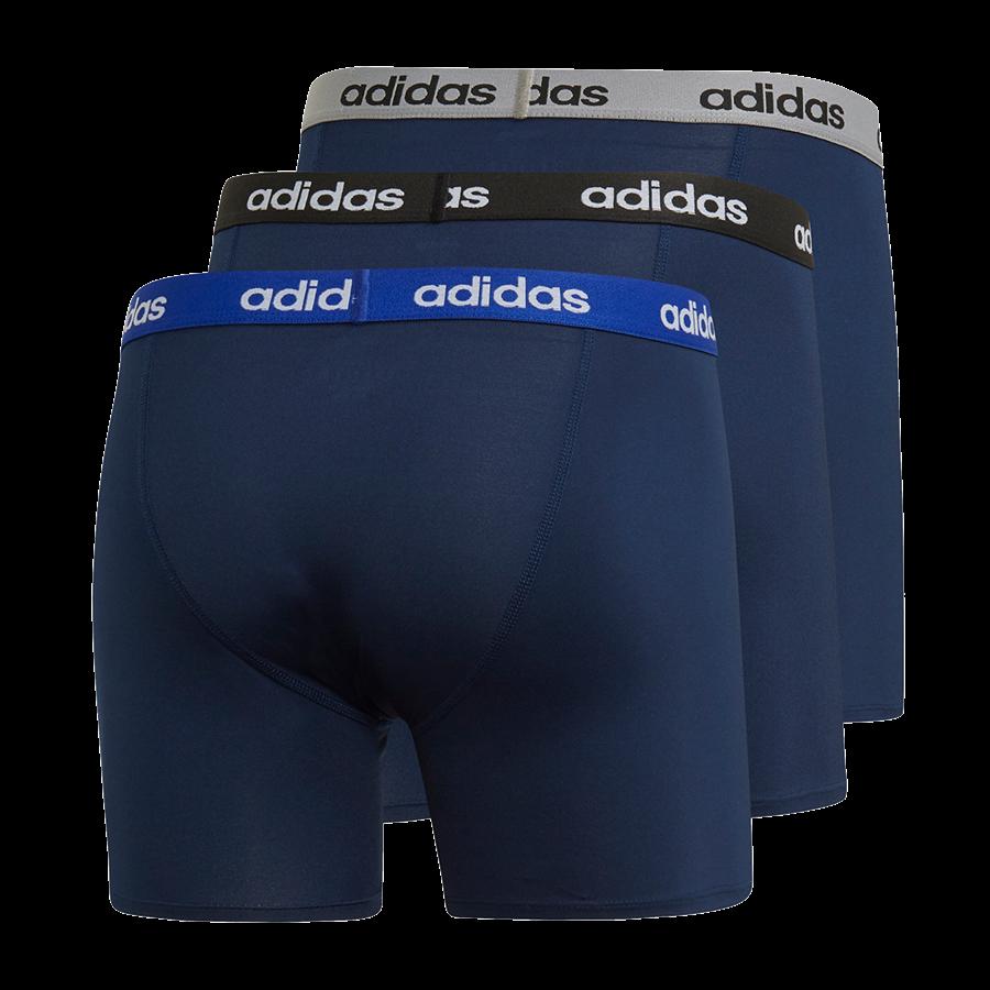 adidas Boxershort Climacool 3er Pack dunkelblau Bild 3