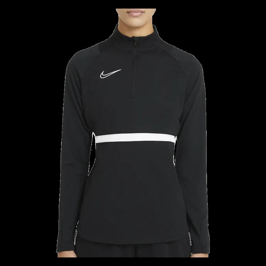 Nike Damen Trainingsoberteil Drill Top Academy 21 schwarz/weiß Bild 2
