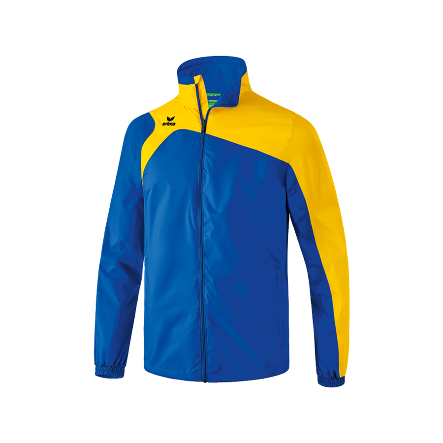 Erima Kinder Allwetterjacke Club 1900 2.0 blau/gelb Bild 2