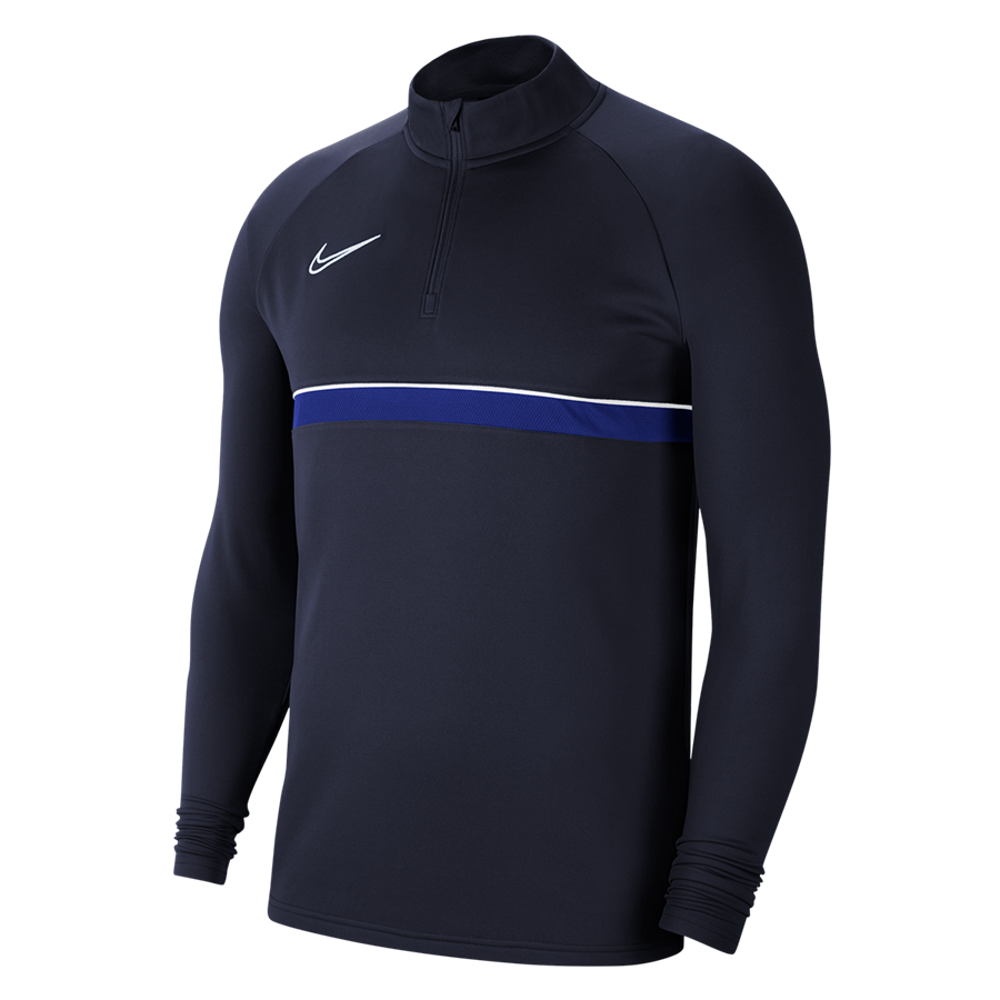 Nike Academy 21 Drill Top 1/4 Zip LS donkerblauw Afbeelding 2