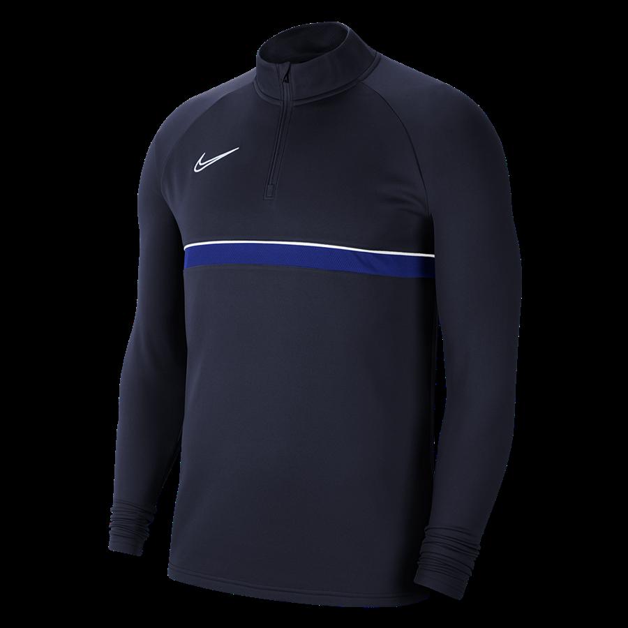 Nike Trainingsoberteil Academy 21 Drill Top 1/4 Zip LS dunkelblau Bild 2