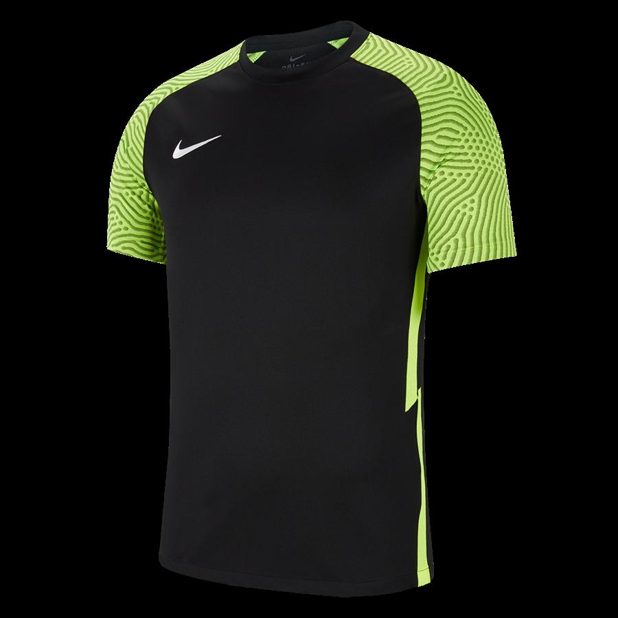 Nike Striker II Jersey mez fekete/fluoreszkáló zöld Kép 2