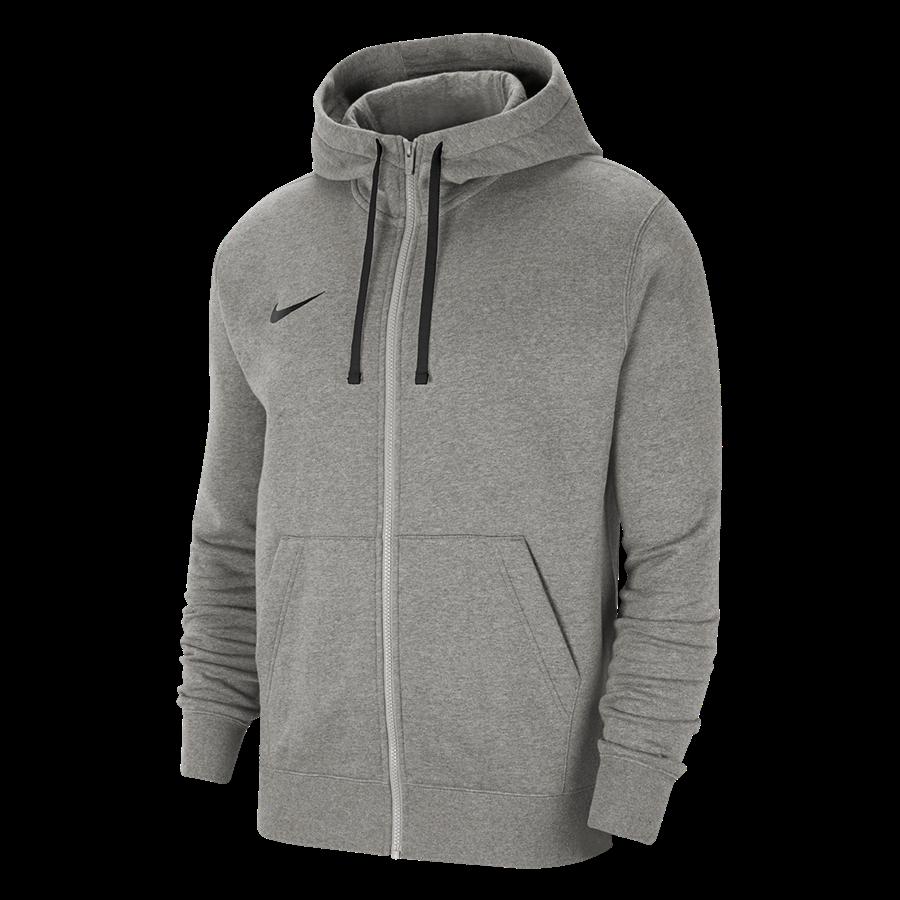 Nike Kapuzenjacke Team Park 20 Fleece hellgrau Bild 2