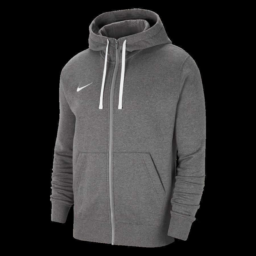 Nike Kapuzenjacke Team Park 20 Fleece grau Bild 2