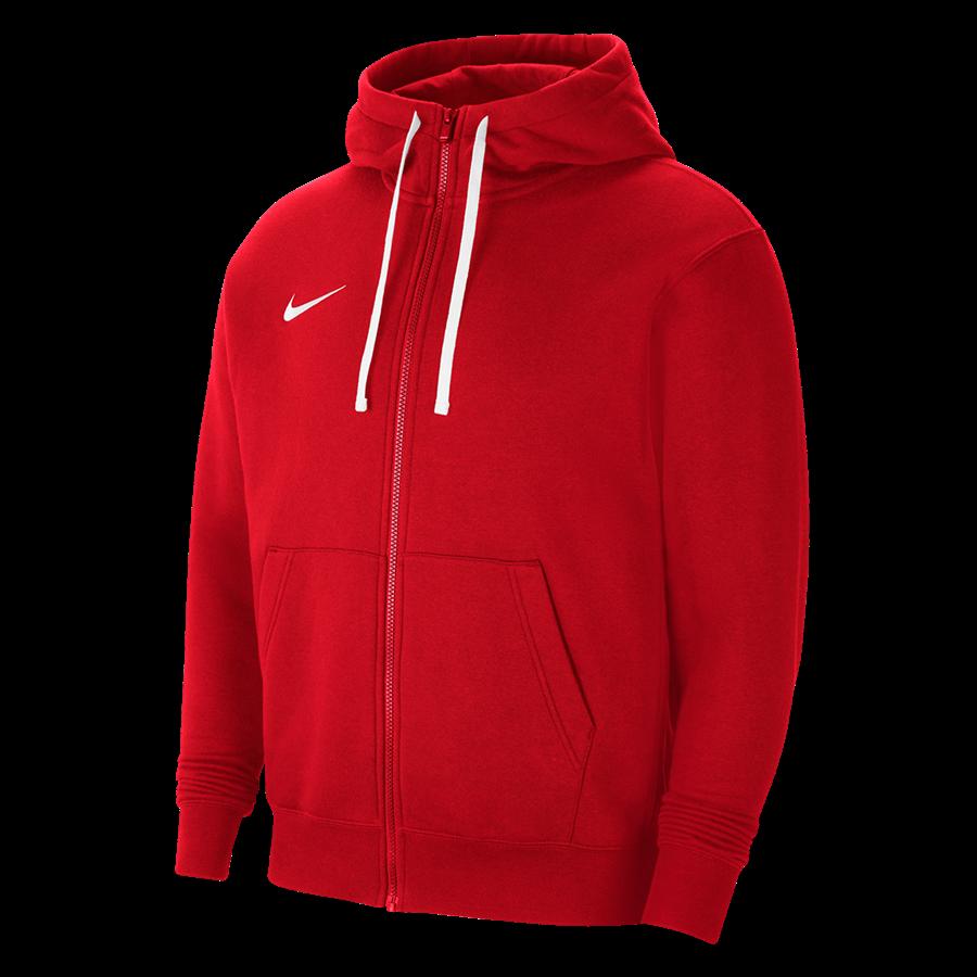 Nike Kapuzenjacke Team Park 20 Fleece rot Bild 2