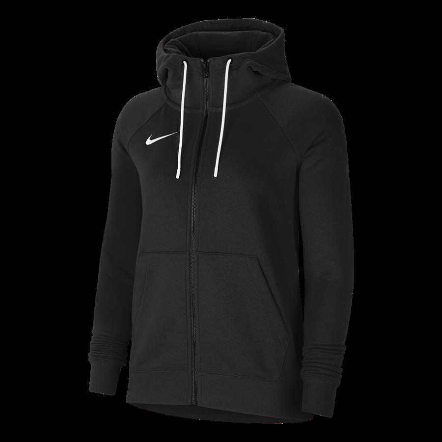 Nike Damen Kapuzenjacke Team Park 20 Fleece schwarz Bild 2