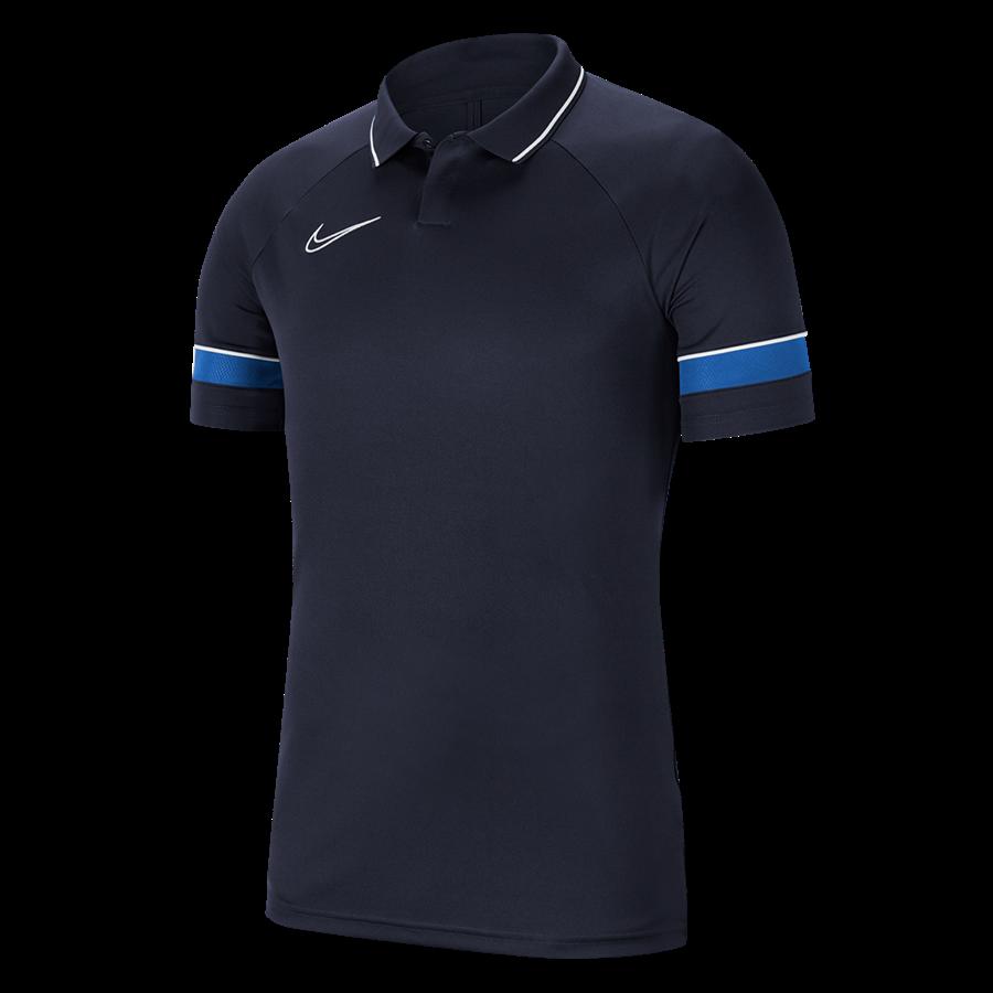 Nike Poloshirt Academy 21 dunkelblau Bild 2