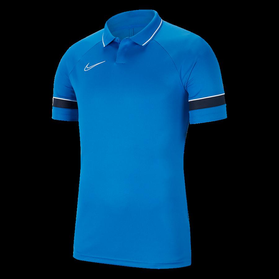 Nike Poloshirt Academy 21 blau Bild 2