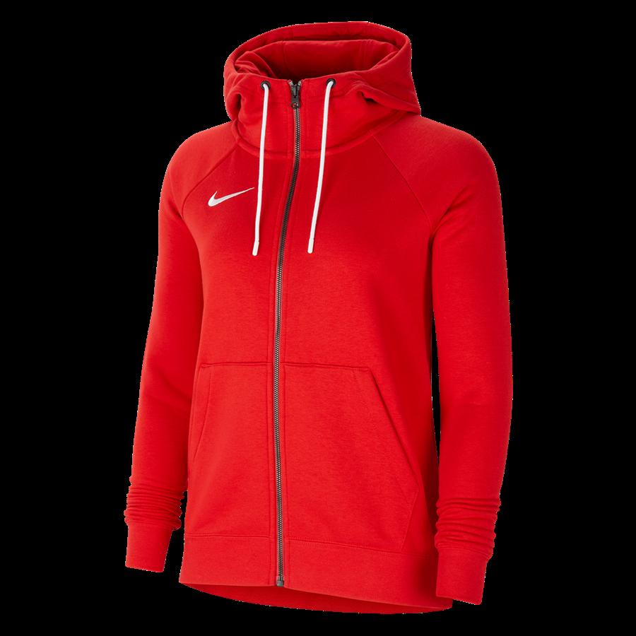Nike Damen Kapuzenjacke Team Park 20 Fleece rot Bild 2